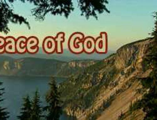 Peace of God – Bill Gill