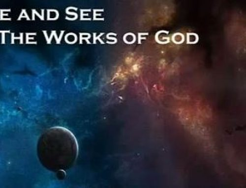 Come and See The Works of God