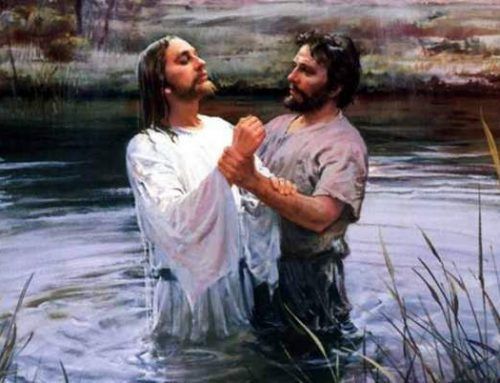 What is meant by baptized by the holy spirit'?