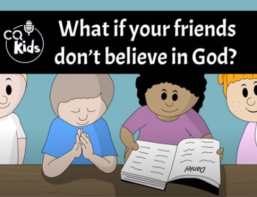 What if your friends don`t believe in God?