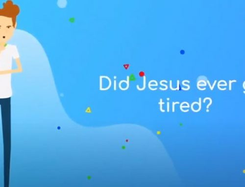 Did Jesus ever get tired?