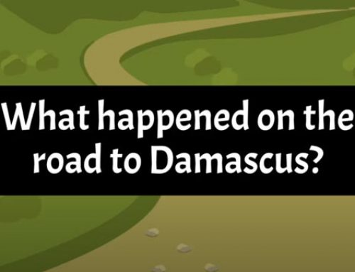 What happened on the road to Damascus?