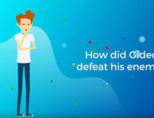 How did Gideon defeat his enemies?