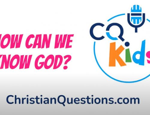 How can we know God?