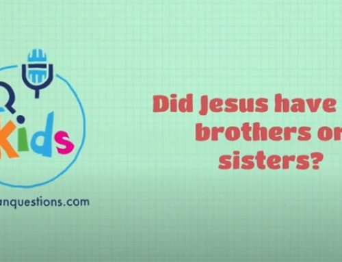 Did Jesus have any brothers or sisters?