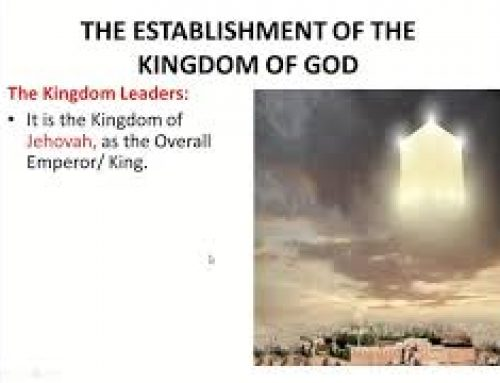 The Establishment and Manifestation of the Kingdom – Eliezer Jujuko (2020 Ghana ZOOM Convention)