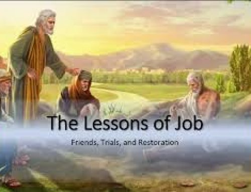 The lessons of Job – Kerry Matthew (2020 Harvest ZOOM Convention)