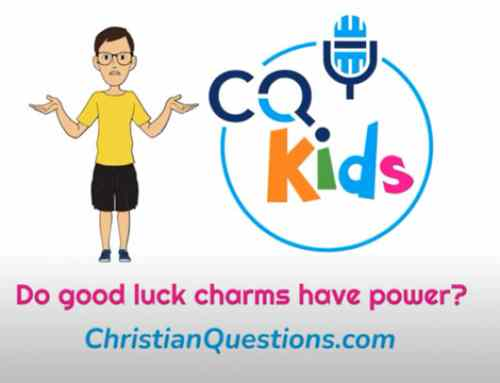 Do good luck charms have power?