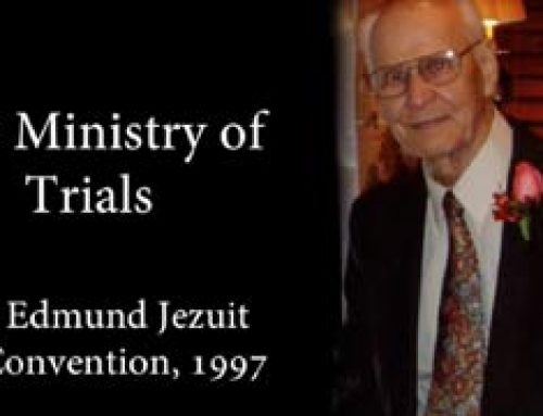 The Ministry of Trials  – Edmund Jezuit