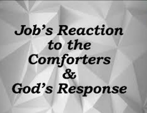 Job`s reaction to the comforters and God`s response – John Gebarowski (2020 Harvest ZOOM Convention)